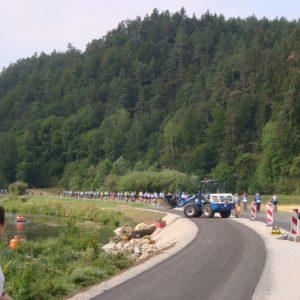 Neuer Radweg entlang der Wiesent