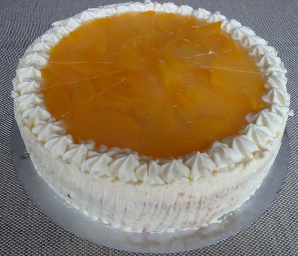 Pfirsich-Mascarpone-Sahne