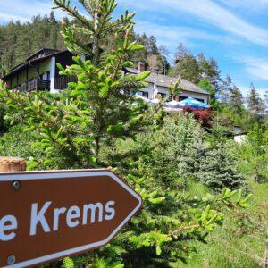 Hier geht´s lang: Cafe Krems